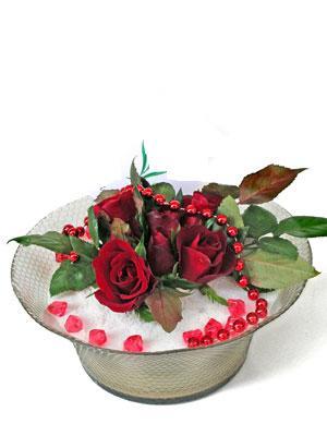 Yozgat çiçek siparişi vermek  EN ÇOK Sevenlere 7 adet kirmizi gül mika yada cam tanzim