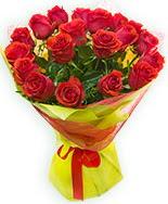 19 Adet kırmızı gül buketi  Yozgat çiçek siparişi vermek