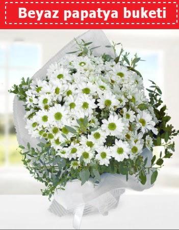 Beyaz Papatya Buketi  Yozgat 14 şubat sevgililer günü çiçek