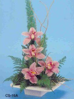 Yozgat çiçekçi telefonları  vazoda 4 adet orkide
