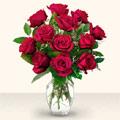 Yozgat çiçek yolla  10 adet gül cam yada mika vazo da