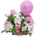 balon ve çiçeklerle tanzim  Yozgat internetten çiçek satışı