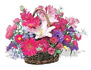 küçük karisik özel sepet   Yozgat çiçek online çiçek siparişi