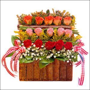 sandikta 3 kat güllerden   Yozgat cicekciler , cicek siparisi