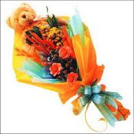 ayicik gül ve kir çiçekleri   Yozgat çiçekçi mağazası