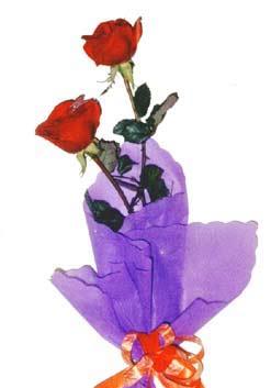 2  adet kirmizi gül buketi   Yozgat çiçek , çiçekçi , çiçekçilik