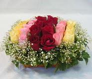 15 adet reprenkli gül sepeti   Yozgat çiçek yolla