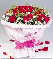 Yozgat internetten çiçek satışı  12 ADET KIRMIZI GÜL BUKETI