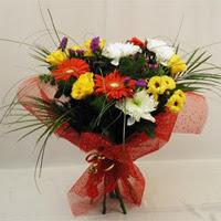 Yozgat hediye çiçek yolla  Karisik mevsim demeti
