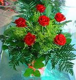 6 adet kirmizi gül buketi   Yozgat online çiçek gönderme sipariş