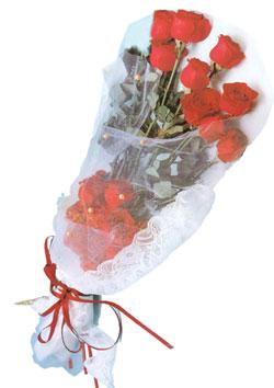11 adet kirmizi güller buket tanzimi   Yozgat çiçek siparişi sitesi