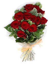 Yozgat çiçek yolla , çiçek gönder , çiçekçi   9 lu kirmizi gül buketi.