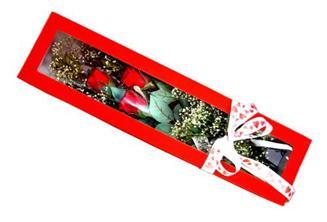 Yozgat hediye çiçek yolla  Kutuda 3 adet gül