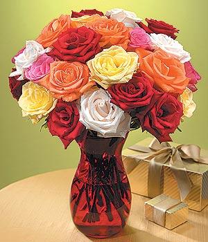 Yozgat anneler günü çiçek yolla  13 adet renkli gül
