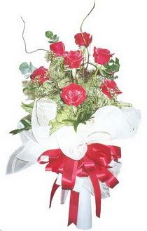 Yozgat çiçek siparişi sitesi  7 adet kirmizi gül buketi