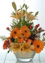Yozgat çiçek servisi , çiçekçi adresleri  cam yada mika vazo içinde karisik mevsim çiçekleri