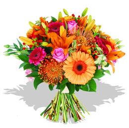 Yozgat çiçekçi telefonları  Karisik kir çiçeklerinden görsel demet