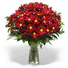 Yozgat çiçek yolla  Kir çiçekleri cam yada mika vazo içinde