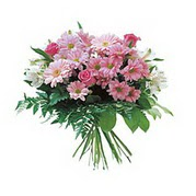 karisik kir çiçek demeti  Yozgat çiçek satışı