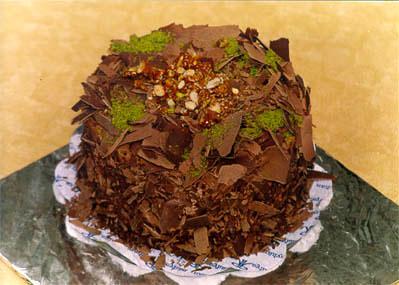 Çikolatali 4 ila 6 kisilik yas pasta  Yozgat çiçek gönderme sitemiz güvenlidir