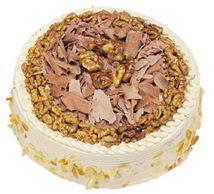 Karamelli 4 ile 6 kisilik yas pasta  Yozgat çiçek yolla
