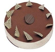 Tirasumulu yas pasta 4 ile 6 kisilik pasta  Yozgat cicek , cicekci