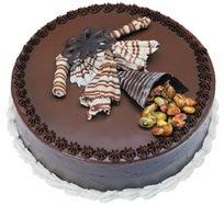 Çikolatali yas pasta 4 ile 6 kisilik  leziz  Yozgat çiçek mağazası , çiçekçi adresleri