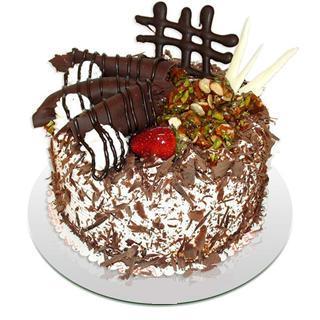 4 ile 6 kisilik çikolatali yas pasta  Yozgat kaliteli taze ve ucuz çiçekler