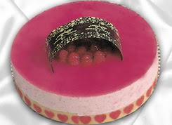 pasta siparisi 4 ile 6 kisilik yas pasta framboaz yaspasta  Yozgat güvenli kaliteli hızlı çiçek