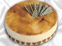 taze pasta 4 ile 6 kisilik yas pasta karamelli yaspasta  Yozgat çiçekçiler
