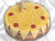 taze pastaci 4 ile 6 kisilik yas pasta limonlu yaspasta  Yozgat online çiçek gönderme sipariş