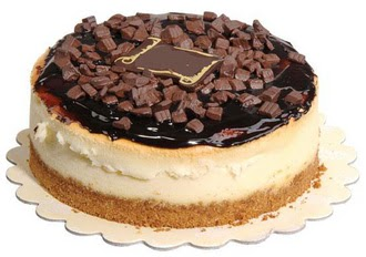 pasta yolla 4 ile 6 kisilik çikolatali yas pasta  Yozgat online çiçek gönderme sipariş