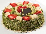 pasta gönder  4 ile 6 kisilik karisik meyvali yas pasta  Yozgat internetten çiçek siparişi