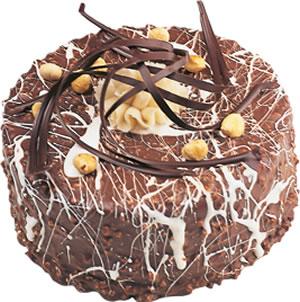 pasta satisi 4 ile 6 kisilik çikolatali yas pasta  Yozgat İnternetten çiçek siparişi