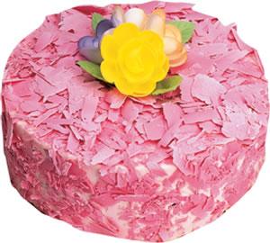 pasta siparisi 4 ile 6 kisilik framboazli yas pasta  Yozgat çiçek yolla