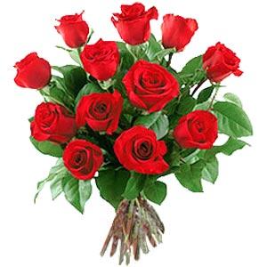 11 adet bakara kirmizi gül buketi  Yozgat güvenli kaliteli hızlı çiçek