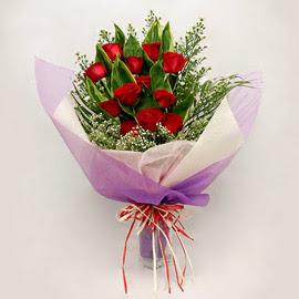 çiçekçi dükkanindan 11 adet gül buket  Yozgat çiçekçi mağazası