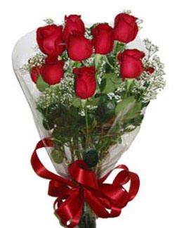 Çiçek sade gül buketi 7 güllü buket  Yozgat online çiçek gönderme sipariş