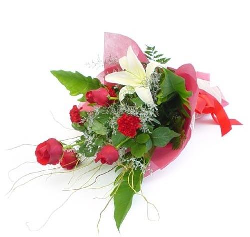 Mevsim çiçeklerinden karisik buket  Yozgat cicek , cicekci