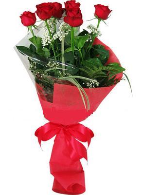 7 adet kirmizi gül buketi  Yozgat çiçek yolla , çiçek gönder , çiçekçi
