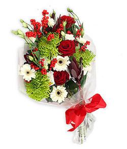 Karisik mevsim buketi çiçek tanzimi  Yozgat internetten çiçek siparişi