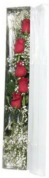Yozgat çiçek siparişi sitesi   5 adet gülden kutu güller