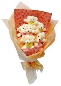 12 adet ayiciktan buket  Yozgat çiçek siparişi sitesi