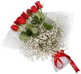 7 adet essiz kalitede kirmizi gül buketi  Yozgat hediye sevgilime hediye çiçek