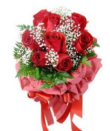 9 adet en kaliteli gülden kirmizi buket  Yozgat çiçek servisi , çiçekçi adresleri