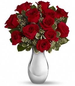Yozgat çiçek siparişi vermek   vazo içerisinde 11 adet kırmızı gül tanzimi