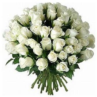Yozgat çiçek servisi , çiçekçi adresleri  33 adet beyaz gül buketi