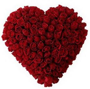 Yozgat çiçekçi mağazası  muhteşem kırmızı güllerden kalp çiçeği