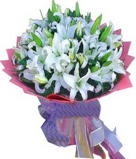 7 dal cazablanca görsel buketi  Yozgat çiçekçi mağazası