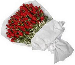Yozgat İnternetten çiçek siparişi  51 adet kırmızı gül buket çiçeği